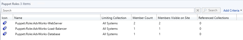 Role Collections